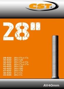 47-622 2,00 Bv 40 Mm Innertube 28 X 1,75