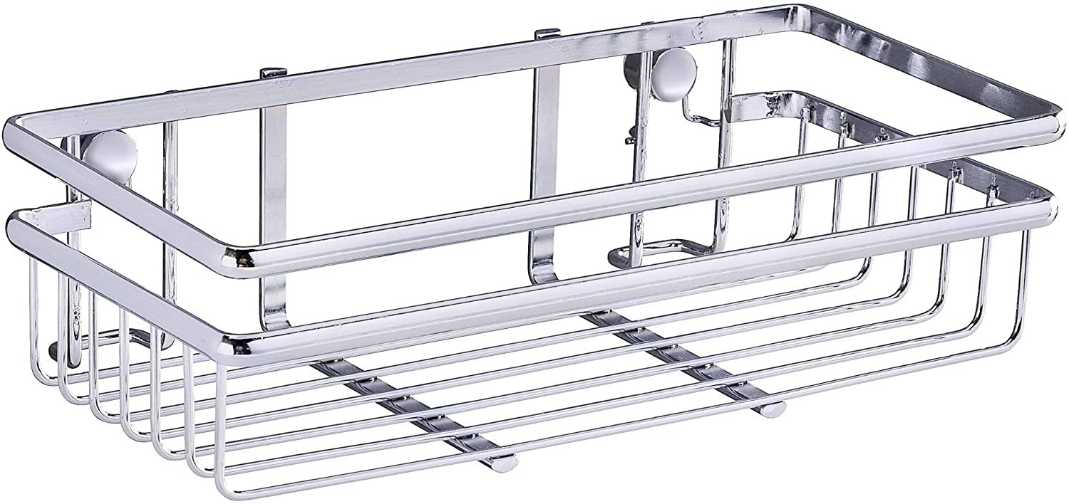 Wenko Hang Basket Large Cleaning Supplies Shelf Spice Rack for Kitchen Bathroom NEW