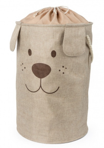 Balvi laundry basket Woof! 70 liters 60 x 40 cm polyester brown