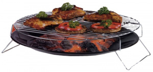 BBQ Collection barbecueschaal 36 cm zwart