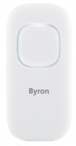 Byron bell push DBY-25930 wireless white 4-parts