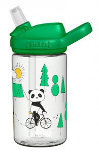 CamelBak drinkfles Eddy+ Playful Pandas junior 400 ml groen