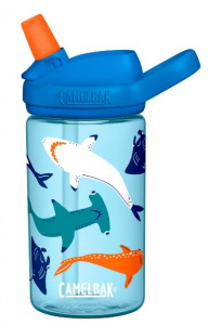 CamelBak drinkfles Eddy+ Shark Squad junior 400 ml blauw