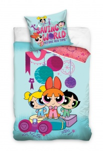 Cartoon Network dekbedovertrek Powerpuff Girls 140 x 200 cm