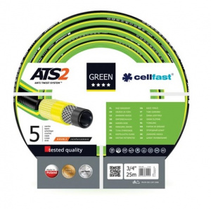 Cellfast tuinslang ATS2 3/4 inch 25 meter polyester groen