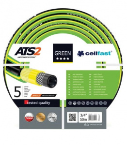 Cellfast tuinslang ATS2 3/4 inch 50 meter polyester groen
