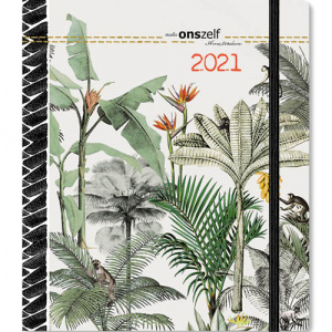Comello agenda Studio Onszelf Jungle 2021 junior 16 x 20 cm