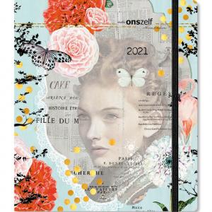 Comello agenda Studio Onszelf Vintage Woman 2021 junior 20 cm