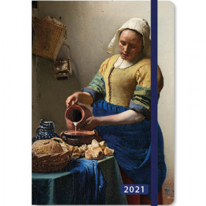 Comello weekagenda Vermeer 2021 junior 12,7 x 17,8 cm