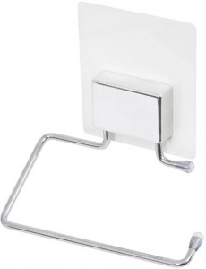 Compactor toiletrolhouder Bestlock Magic 13 x 14 cm staal wit