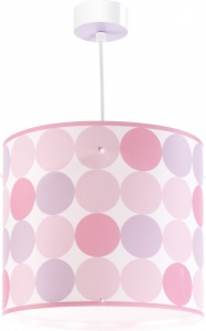 Dalber hanging lamp Colors 26.5 cm pink