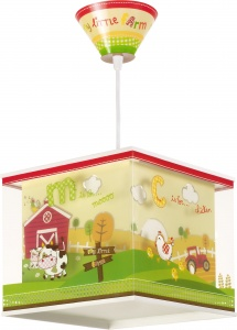 Dalber pendant light My Little Farm 24 cm green