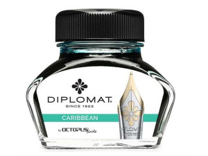 Diplomat inkt Diplo Octopus 30 ml unisex glas turquoise