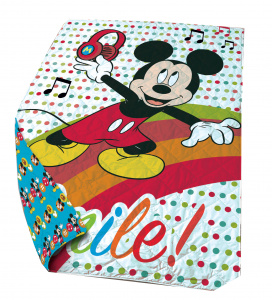 Disney beddensprei Mickey Mouse junior 140 x 200 cm polyester