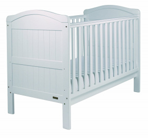 East Coast Country Cot 2 in 1 ledikantbed en peuterbed wit 145 cm
