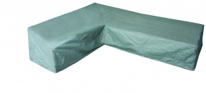 Eurotrail protective cover corner bench 250x305x100 cm SFS grey