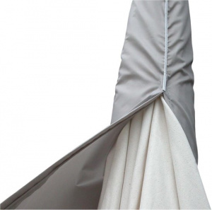 Eurotrail floating parasol cover XL 280 cm polyester grey