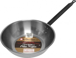 Garcima frying pan high Lyonnaise 24 cm steel silver