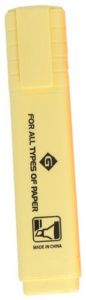 Gerimport highlighter 11,5 cm yellow