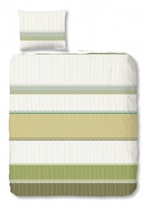 Good Morning housse Ariede couette 140 x 220 cm vert