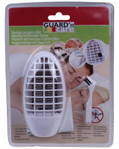 Guard'n Care mosquito repellent and night lamp 11.5 x 6 cm 2-piece