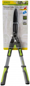 Kinzo extendable hedge trimmer grey/green