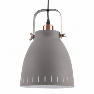 Leitmotiv pendant lamp Mingle18 cm steel grey/copper