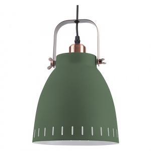 Leitmotiv pendant lamp Mingle18 cm steel green/copper