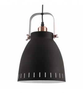 Leitmotiv pendant lamp Mingle18 cm steel black/copper