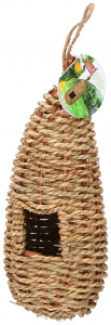 Lifetime Garden bird's nest straw Ø10x24cm