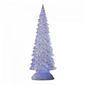 Luca Lighting mini kerstboom 32 x 12 cm 32 x 12 cm 6 led wit