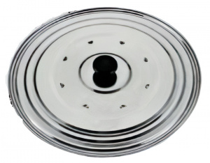 Metaltex pot lid 16 - 21 cm stainless steel chrome