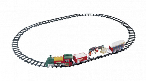 Peha decoratietrein Holiday Express 107 x 76 cm 12-delig