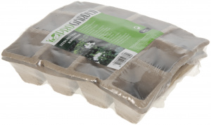 Pro Garden culture pots 12-boxes 21 x 17 x 4,5 cm cardboard 2 pieces