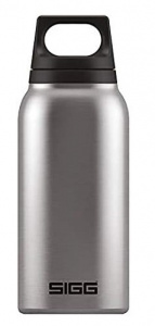 Sigg thermosfles Hot and Cold 0,75 liter 29,0 cm RVS zilver
