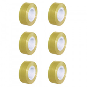 Soho adhesive tape 18 mm transparent 10 meter 6 pieces