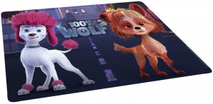 Studio 100 placemat 100% Wolf 41,5 cm paars