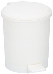 TOM table waste bin 200 ml polypropylene 14 cm white