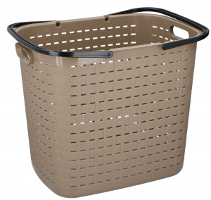 TOM laundry basket 45 litres polypropylene 45 cm brown