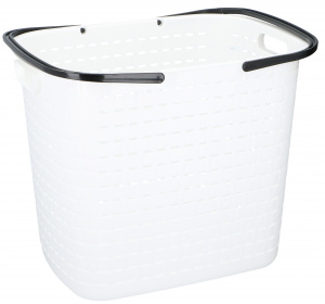 TOM laundry basket 45 litres polypropylene 45 cm white