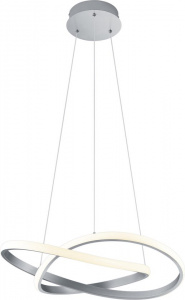 Reality hanglamp Course 150 cm staal 1kg wit/zilver