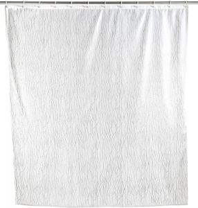 Wenko shower curtain Deluxe 180 x 200 cm polyester white