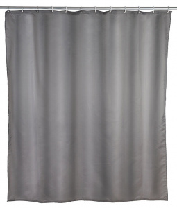 Wenko shower curtain 180 x 200 cm polyester grey do