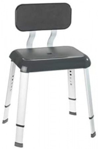 Wenko shower chair Secura 50,5 x 46,5 cm polypropylene anthracite