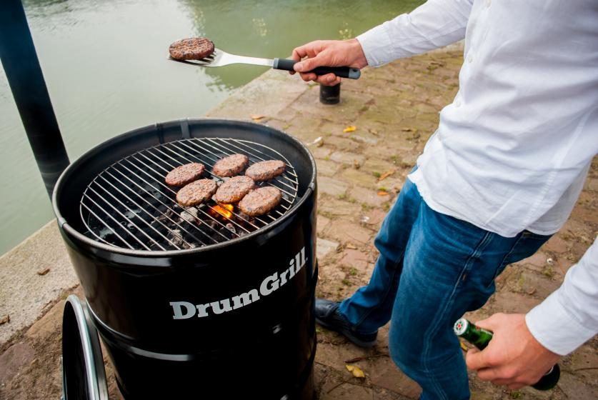 BBQ Collection charbon de bois pour barbecue 83 x 45 cm noir