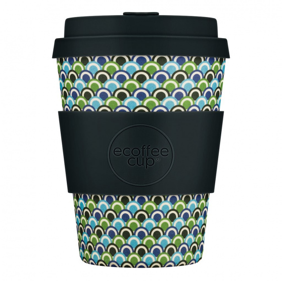 Ecoffee Cup diggi do bamboe koffiebeker 350 ml multicolor