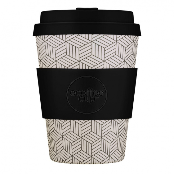 Ecoffee Cup drinkbeker Cup Kerr & Napier 350 ml wit