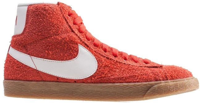 Sneakers Blazer Mid Suede Vintage Max Damen rot