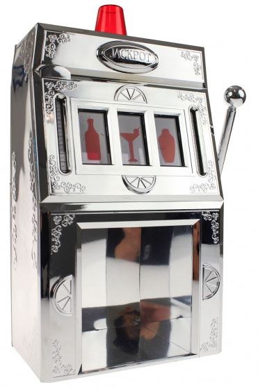 United Entertainment Drankdispenser Jackpot Gokautomaat Zilver