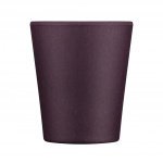 Ecoffee Cup beker Sapere Aude bamboe/siliconen 250 ml paars